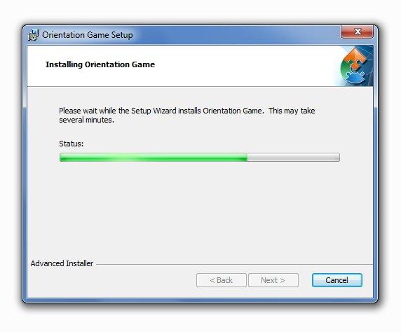 installing