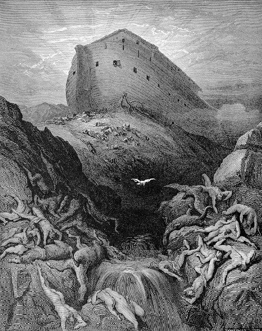 Noah lands after the Flood
