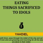 Eating Things Sacrificed To Idols
